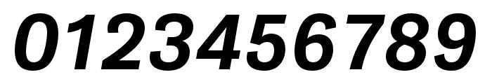 Gira Sans ExtraBold Italic Font OTHER CHARS
