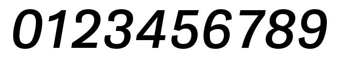 Gira Sans Italic Font OTHER CHARS