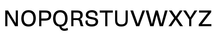 Gira Sans Regular Font UPPERCASE