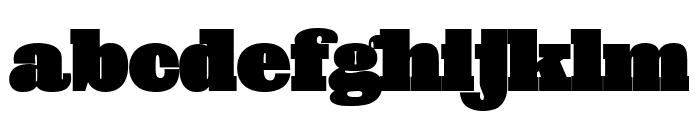 Giza NineFive Font LOWERCASE