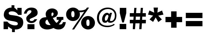 Giza ThreeOne Font OTHER CHARS