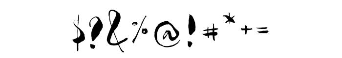 Gloss Drop Regular Font OTHER CHARS