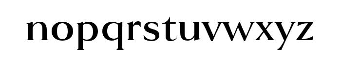 Goldenbook Bold Font LOWERCASE