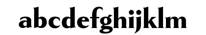 Goldenbook Heavy Font LOWERCASE