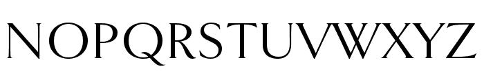 Goldenbook Regular Font UPPERCASE