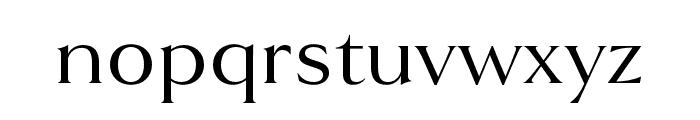 Goldenbook Regular Font LOWERCASE