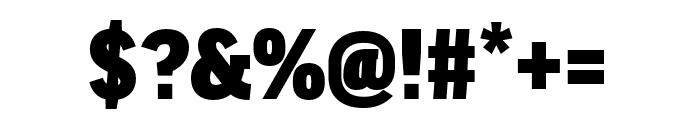 Good Headline Pro Comp Ultra Font OTHER CHARS