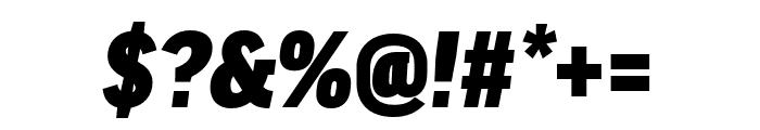 Good Headline Pro Cond Black Italic Font OTHER CHARS