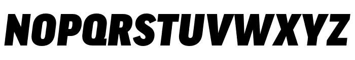 Good Headline Pro Cond Black Italic Font UPPERCASE