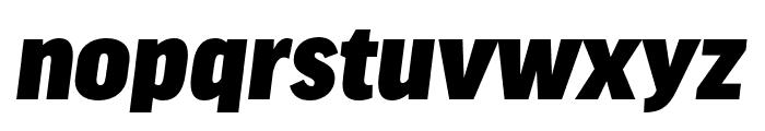 Good Headline Pro Cond Black Italic Font LOWERCASE