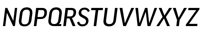 Good Headline Pro Cond Medium Italic Font UPPERCASE