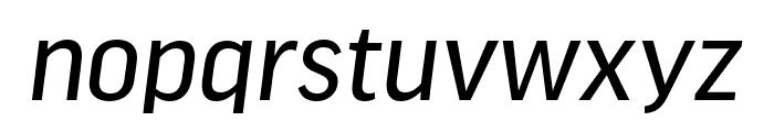 Good Headline Pro Cond News Italic Font LOWERCASE