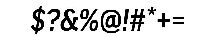 Good Headline Pro Extd Medium Italic Font OTHER CHARS