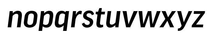 Good Headline Pro Extd Medium Italic Font LOWERCASE