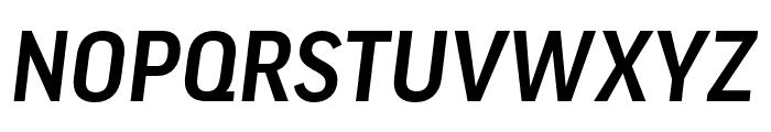 Good Headline Pro XCond Medium Italic Font UPPERCASE