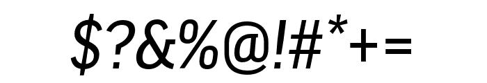 Good Headline Pro XCond News Italic Font OTHER CHARS