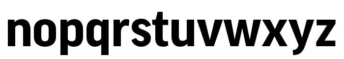 Good Pro Bold Font LOWERCASE