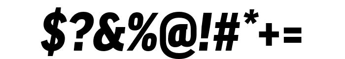 Good Pro Comp Black Italic Font OTHER CHARS