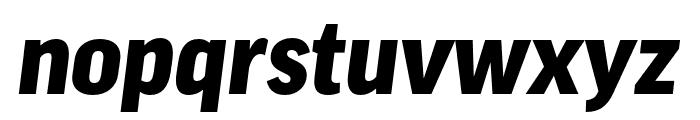 Good Pro Comp Black Italic Font LOWERCASE