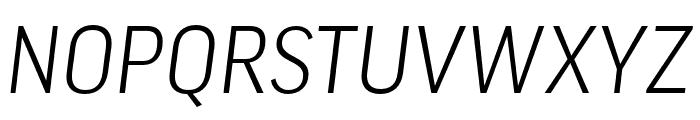 Good Pro Comp Light Italic Font UPPERCASE
