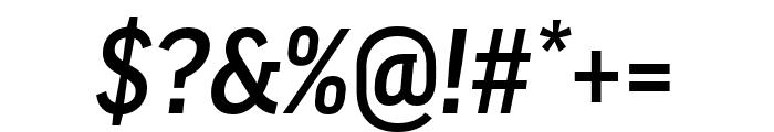 Good Pro Comp Medium Italic Font OTHER CHARS