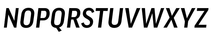 Good Pro Comp Medium Italic Font UPPERCASE