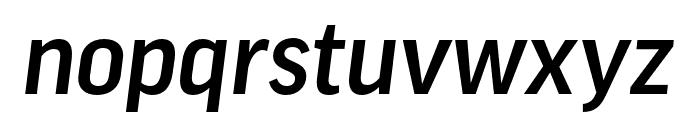 Good Pro Comp Medium Italic Font LOWERCASE