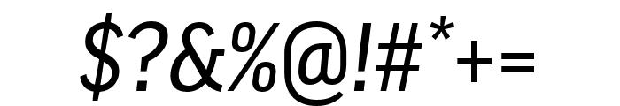 Good Pro Comp News Italic Font OTHER CHARS