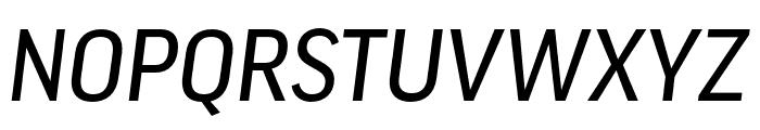 Good Pro Comp News Italic Font UPPERCASE