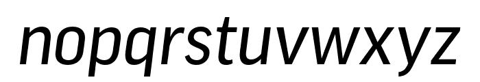 Good Pro Cond News Italic Font LOWERCASE