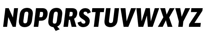 Good Pro Extd Black Italic Font UPPERCASE