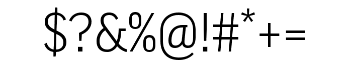 Good Pro Extd Italic Font OTHER CHARS