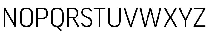 Good Pro Extd Italic Font UPPERCASE