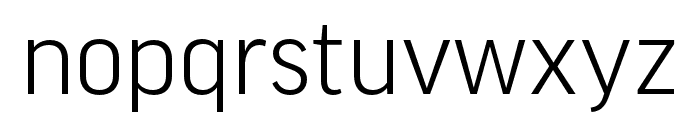 Good Pro Extd Italic Font LOWERCASE