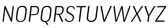 Good Pro Extd Light Italic Font UPPERCASE