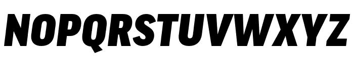 Good Pro Extd Ultra Italic Font UPPERCASE