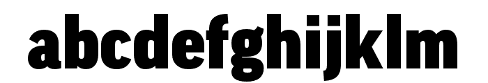 Good Pro Wide Ultra Font LOWERCASE