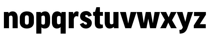 Good Pro XCond Black Font LOWERCASE