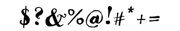 Goodlife Sans Condensed Font OTHER CHARS