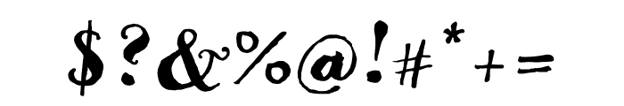 Goodlife Script Font OTHER CHARS
