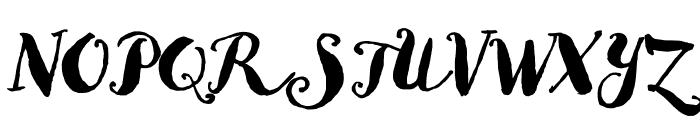 Goodlife Script Font UPPERCASE