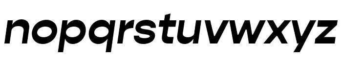 Gopher Bold Italic Font LOWERCASE