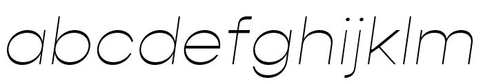 Gopher Medium Font LOWERCASE