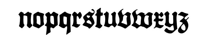 Gothicus Roman Regular Font LOWERCASE