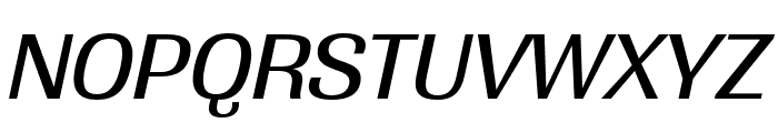 Grange Medium Extended Italic Font UPPERCASE