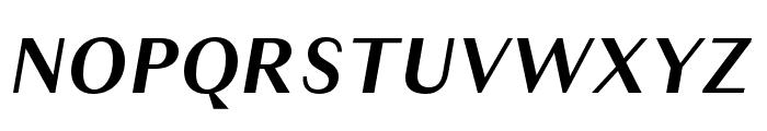 Granville Bold Italic Font UPPERCASE