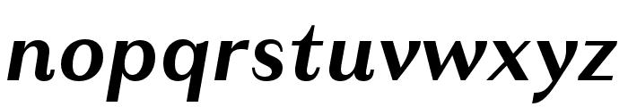 Granville Bold Italic Font LOWERCASE