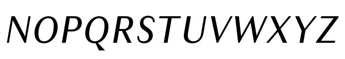 Granville Italic Font UPPERCASE