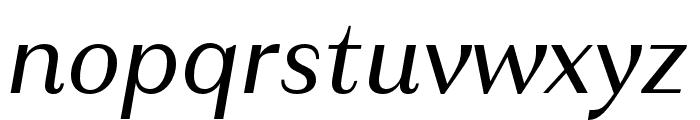 Granville Italic Font LOWERCASE