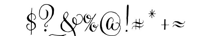 Gratitude Script Pro Regular Font OTHER CHARS